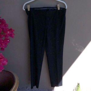Ann Taylor Black straight leg Trousers
